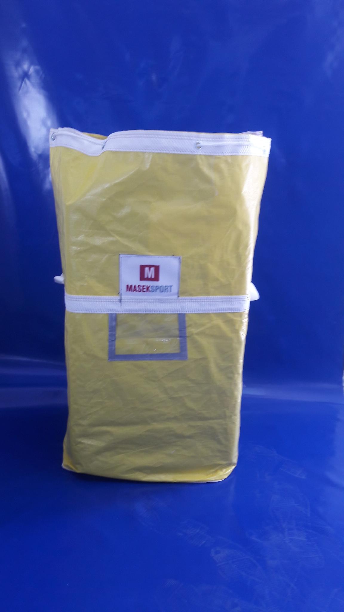Sarı Tekstil Taşıma Torbası