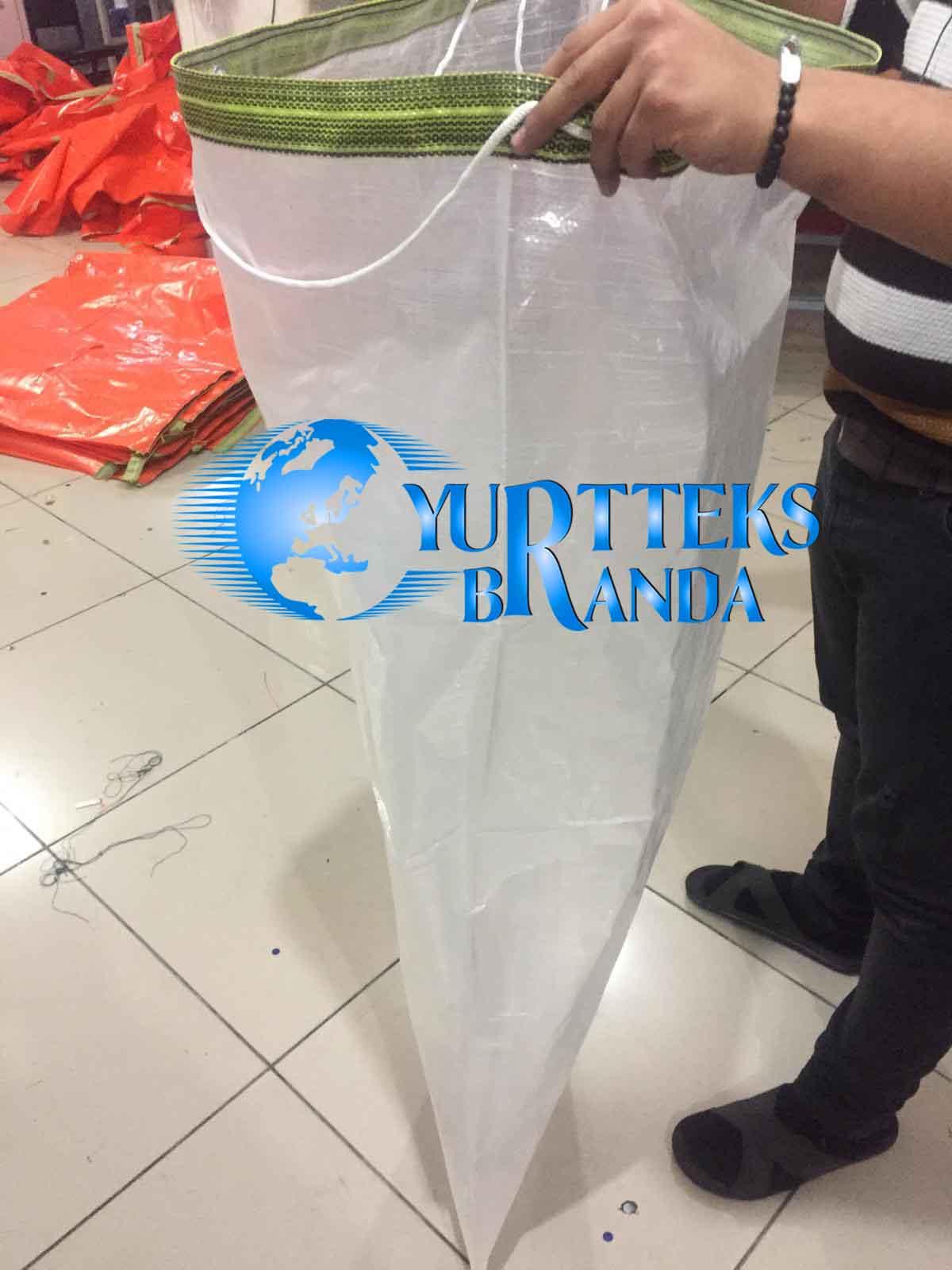 Şeffaf Tekstil Taşıma Torbası